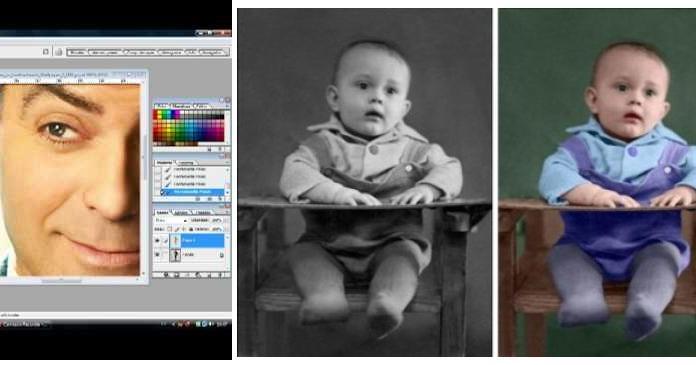 Convierte fácilmente y paso a paso cualquiera de tus fotos antiguas B/N a color