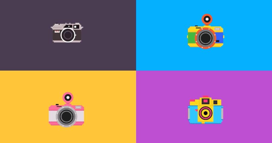 Breve y simpática narración en video de la evolución de la fotografía