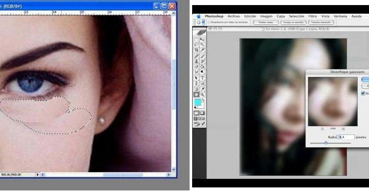 Aprende fácilmente a deshacerte de las ojeras en tus fotos