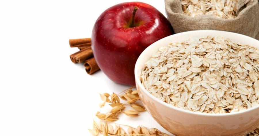 Avena y manzana para bajar de peso, ¡toma nota!
