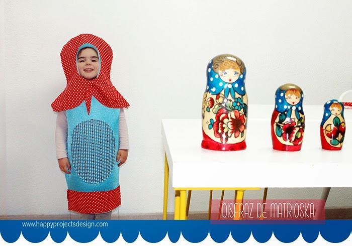Cómo hacer un original disfraz de muñeca matrioska