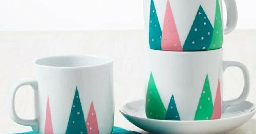 DIY: Más ideas para decorar tazas