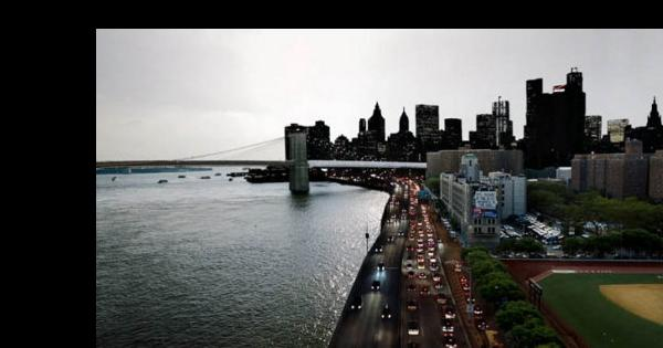 Genuina mezcla de fotografías noche y día de NYC en un mismo encuadre