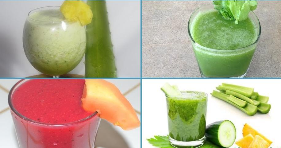 5 recetas de zumos detox para depurar tu cuerpo