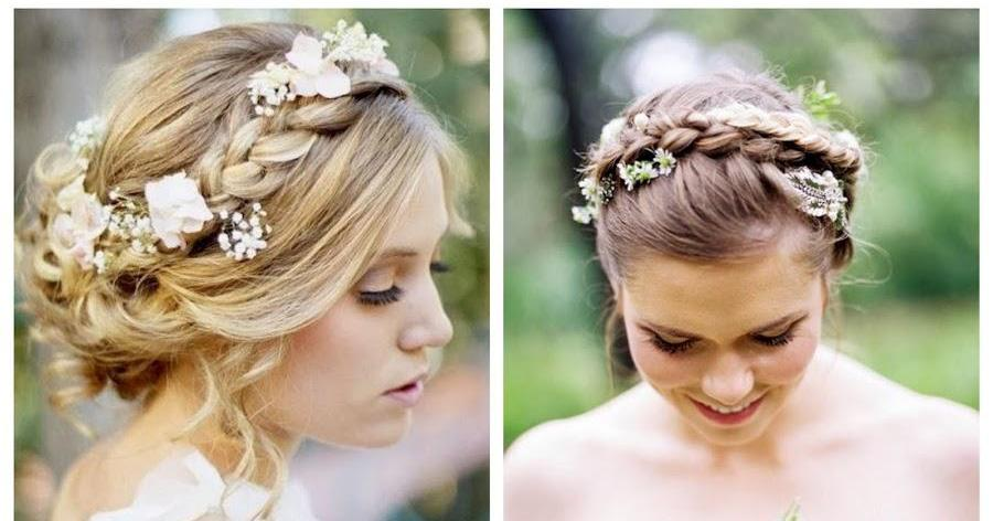 4 peinados con trenzas para invitadas bodas - Peinados De Trenzas