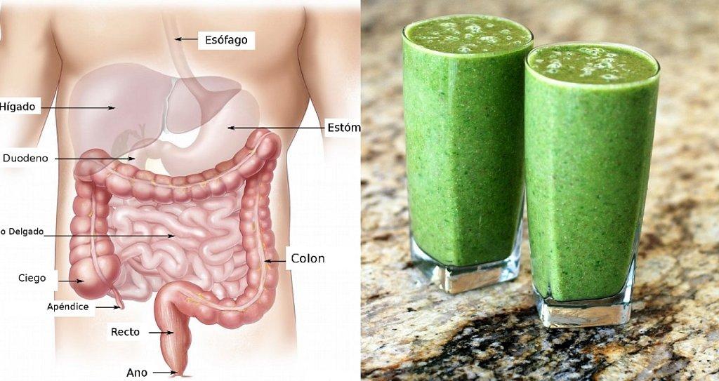 Receta: bebida efectiva para limpiar el colón