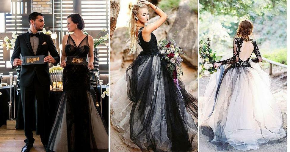 Novias vestidas de negro: tradición, ¿sí o no? | Bodas