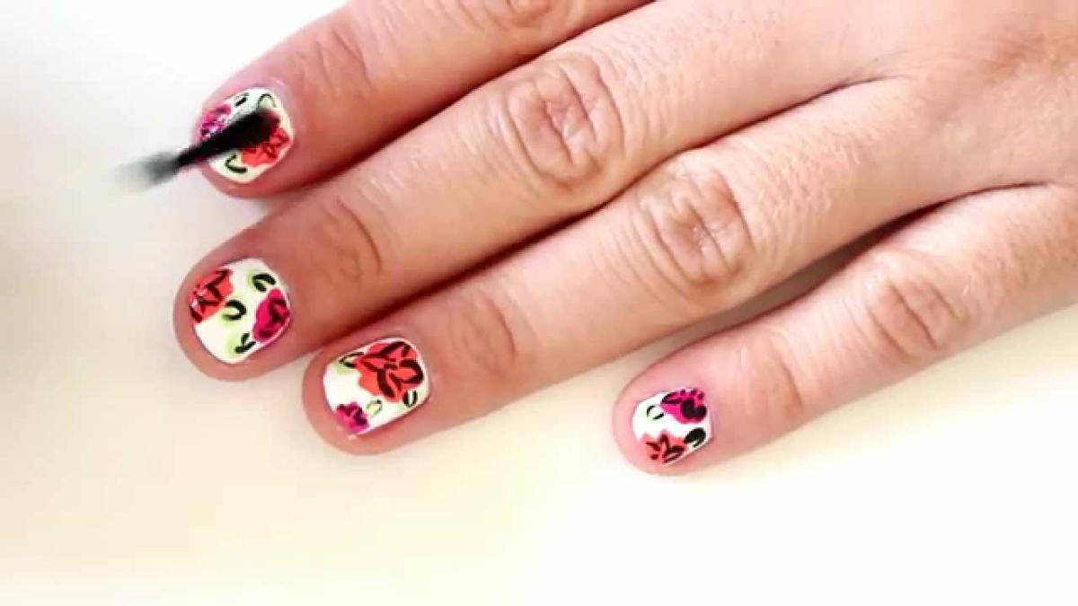 hacer flores en las uñas | facilisimo.com