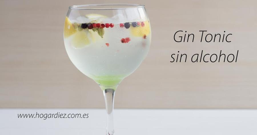 Cómo hacer un Gin Tonic sin alcohol: para que todos puedan beber el combinado de moda