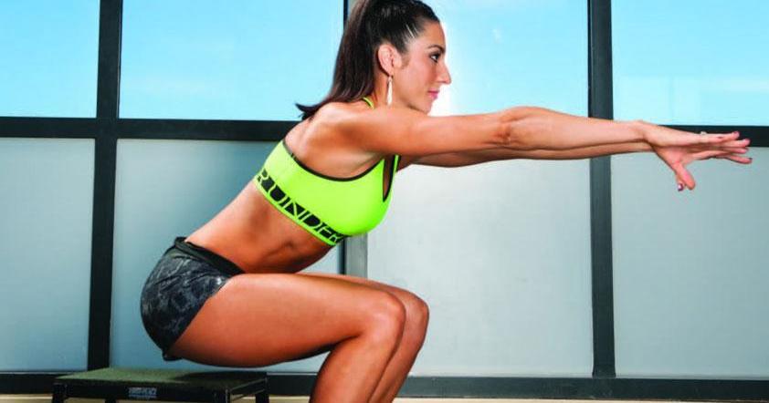 Ponte en forma con... ¡una silla! y estos tres sencillos ejercicios