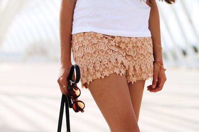 Ideas para combinar shorts de crochet, ¿te apuntas?