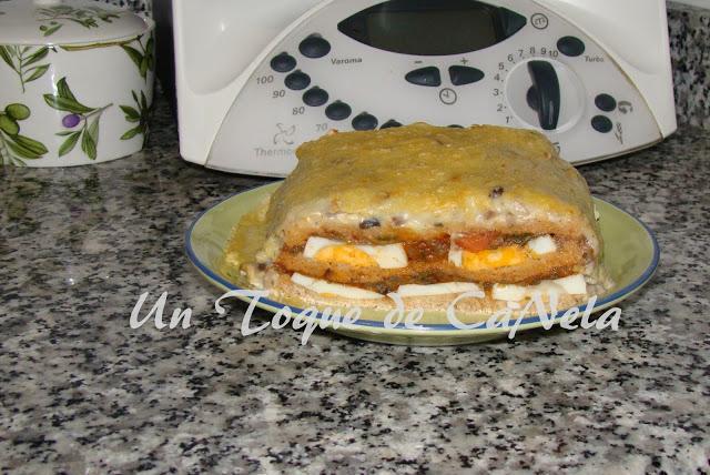 Pastel de pisto, un delicioso plato muy sencillo