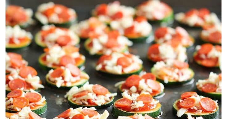 Increíbles mini pizzas de calabacín, ¡sanas y deliciosas!