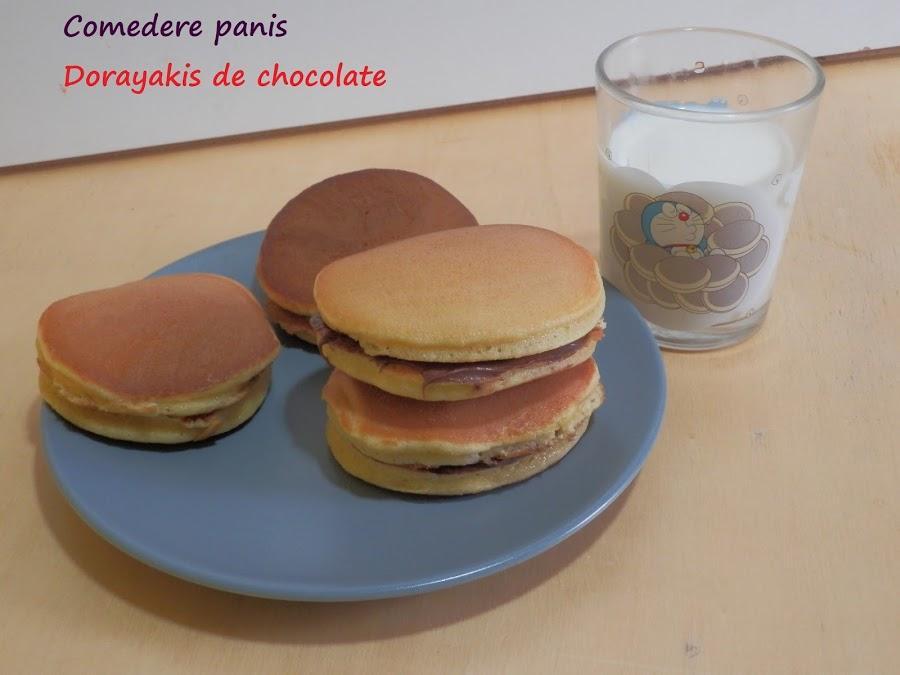 Dorayakis de chocolate, los dulces preferidos de Doraemon