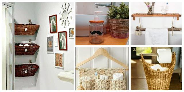 5 ideas low cost para el ba o decoraci n for Decoracion del hogar reciclando