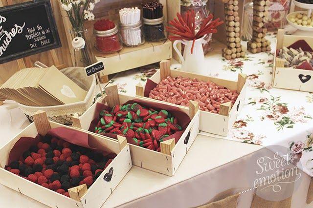 Ideas muy creativas para decorar tu candy bar