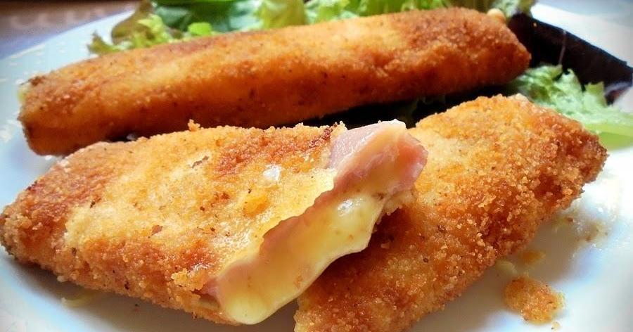 Flamenquines de jamón y queso (o San Jacobos enrollados)