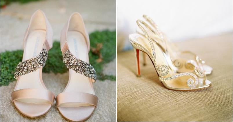 20 zapatos de novia de ensueño