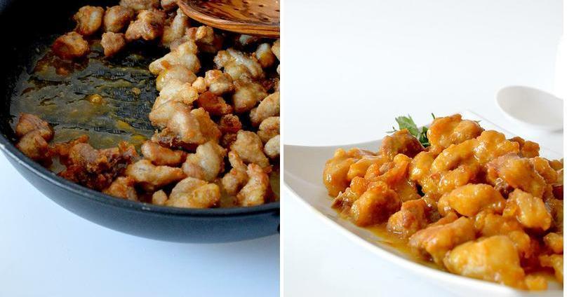 Pollo a la naranja al estilo chino (incluso, mucho mejor)