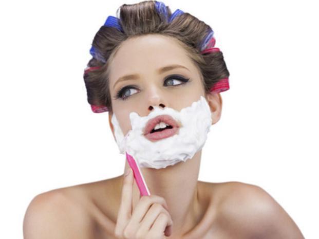 Última tendencia en belleza: ¡¿afeitarse la cara?! ¿es posible?