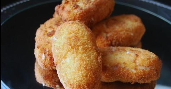 A nadie se le resisten: Croquetas caseras de jamón y pollo
