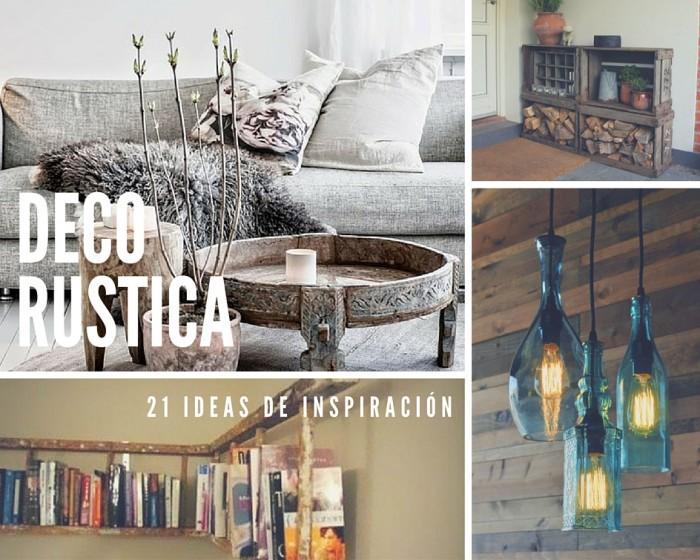 21 ideas rústicas para decorar tu casa