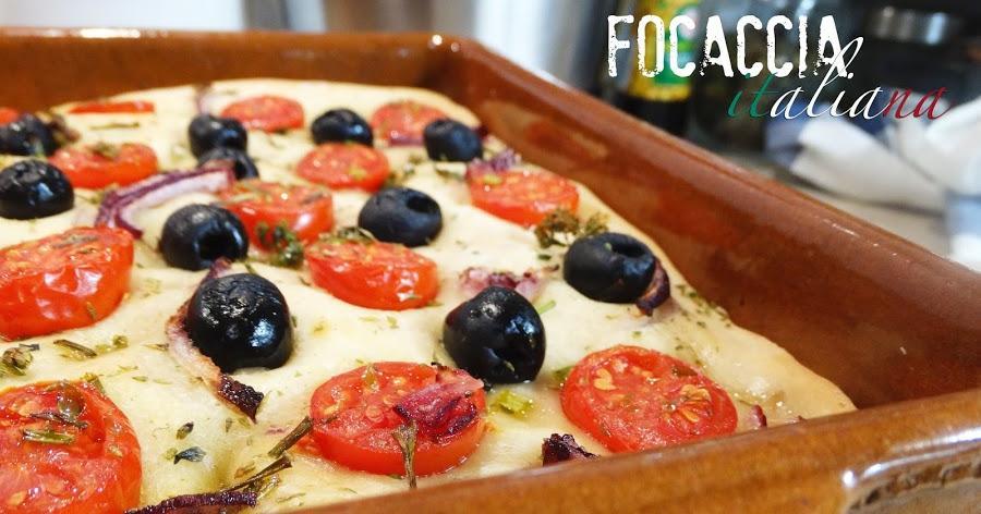 FOCACCIA italiana, la receta. ¡Por fin!