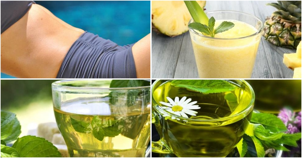 4 deliciosas bebidas que te ayudarán a tener un abdomen más plano