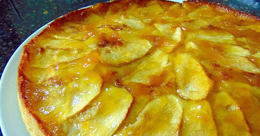 Tarta de manzana fácil y rica