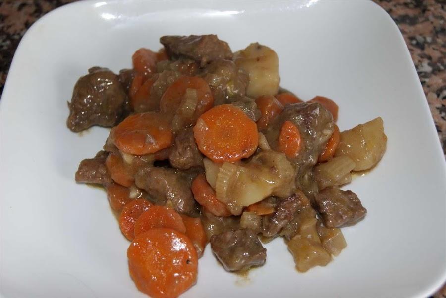 Si te gusta el estofado de ternera con verduras, ¡prueba esta delicia!
