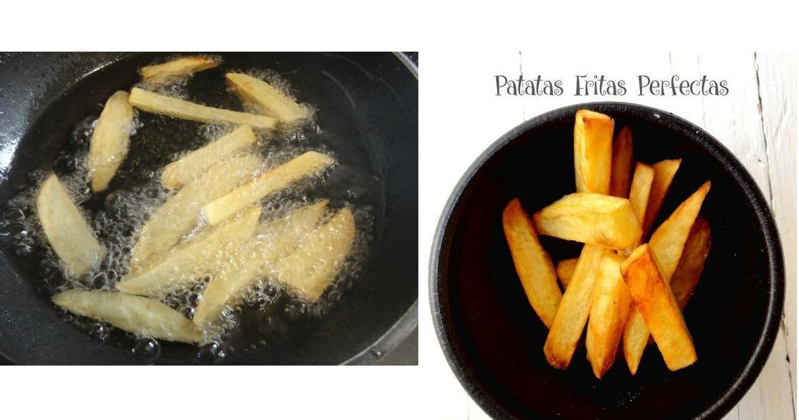 ¿Cómo hacer las patatas fritas perfectas? ¿Crees que sabes?