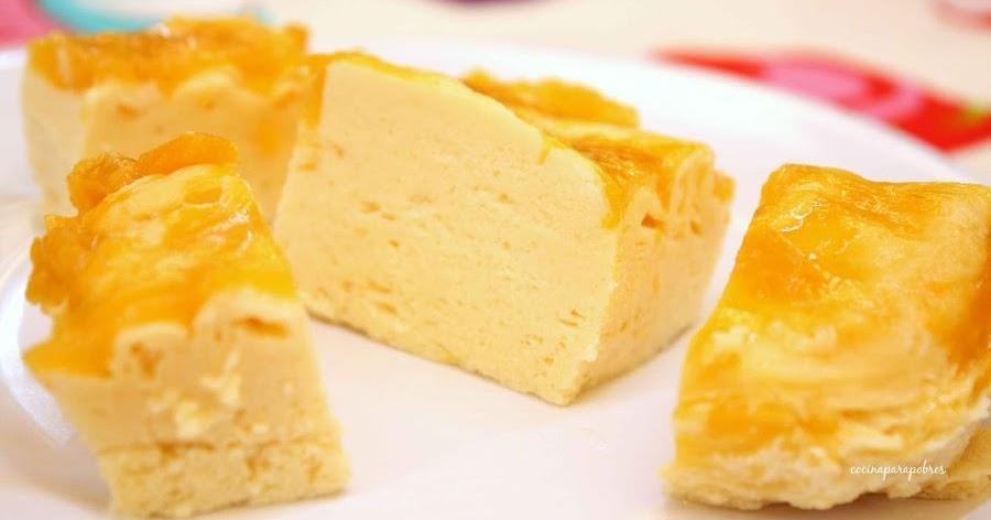 Tarta de queso facilísima y rapidísima (al microondas)