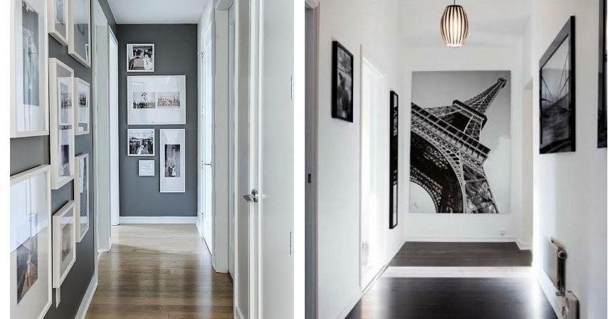¿Sabes cómo decorar un pasillo?