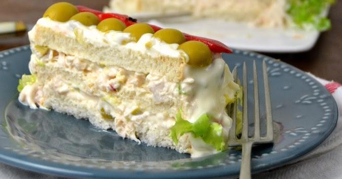 Pastel frío de pollo: receta a aprovechamiento