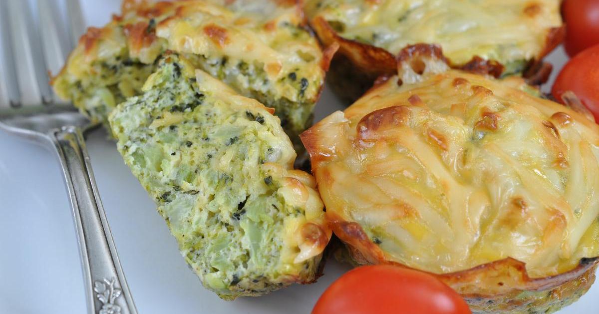 Muffins salados de brócoli (y sin gluten)