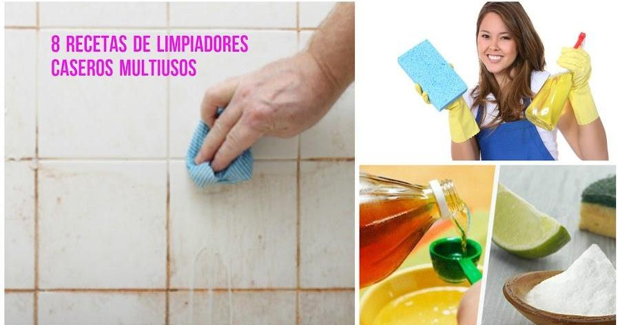 8 recetas para hacer limpiadores caseros