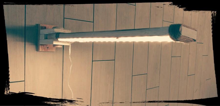 ¡Haz tu propia lámpara con tiras de luces led!