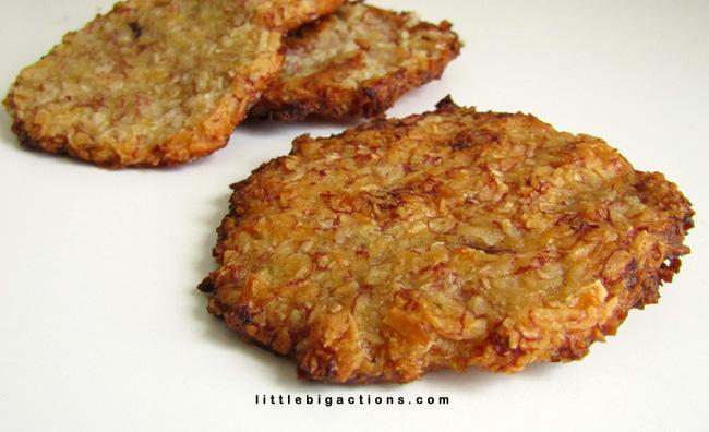 Galletitas saludables con 2 ingredientes: ¡Increíble!