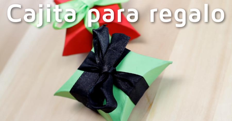 Cómo hacer cajas de regalo con cartulinas 08e0b094c59