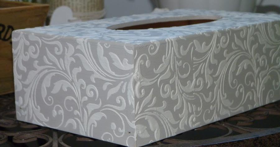 Técnicas decorativas con preciosos acabados