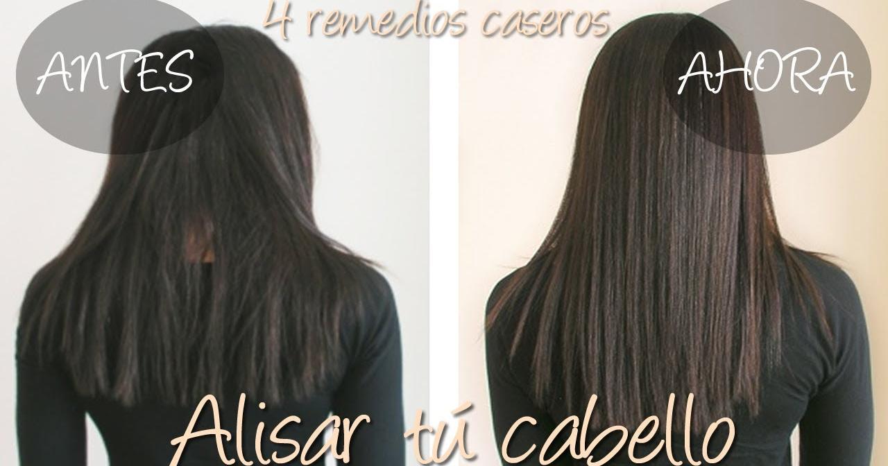 Tratamiento natural para alisar cabello rizado