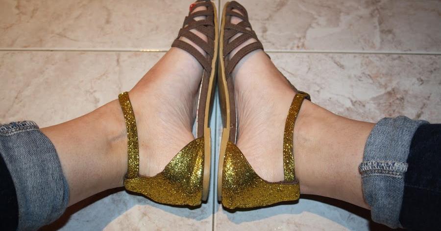 Un toque brillante para tus viejos zapatos