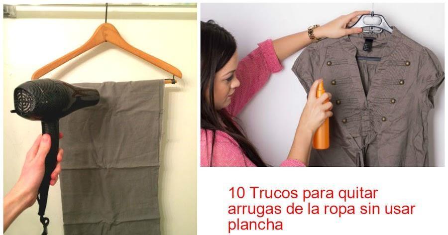 10 trucos para quitar arrugas de la ropa sin usar la plancha