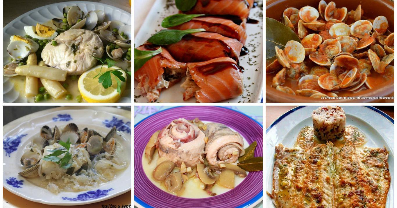 Recetas de pescado para días de fiesta