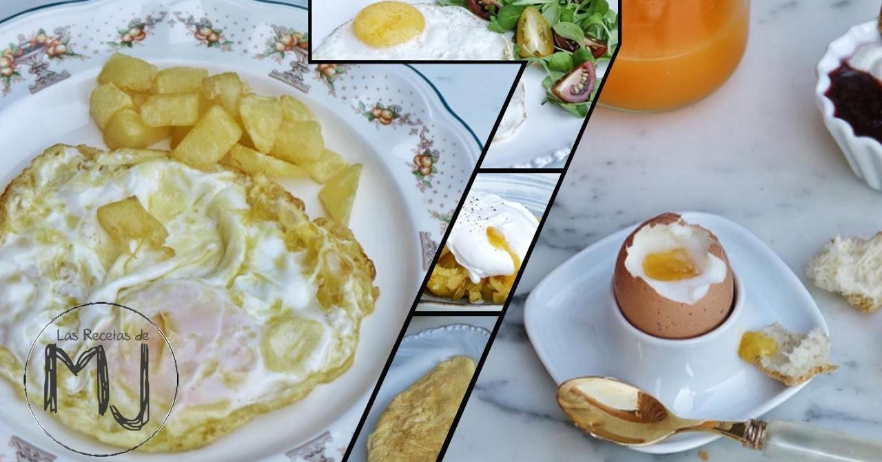 7 maneras de cocinar un huevo las recetas de mj cocina for Maneras de cocinar huevo