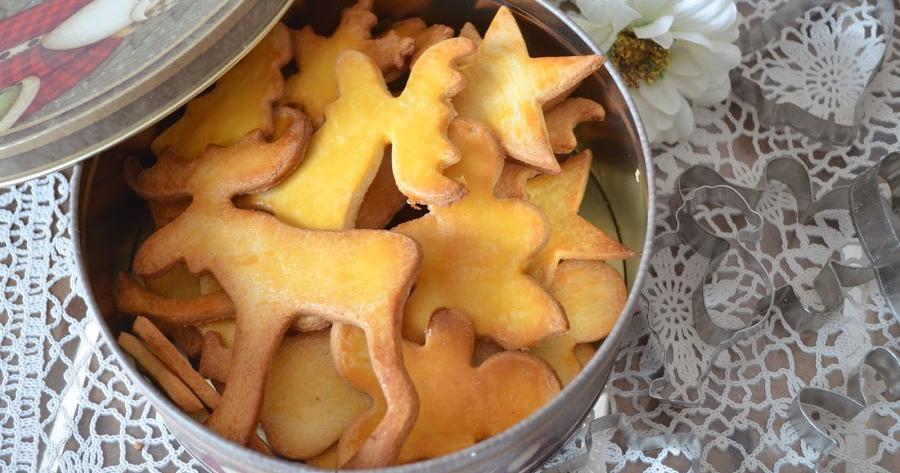 Galletas de Navidad de mantequilla y vainilla