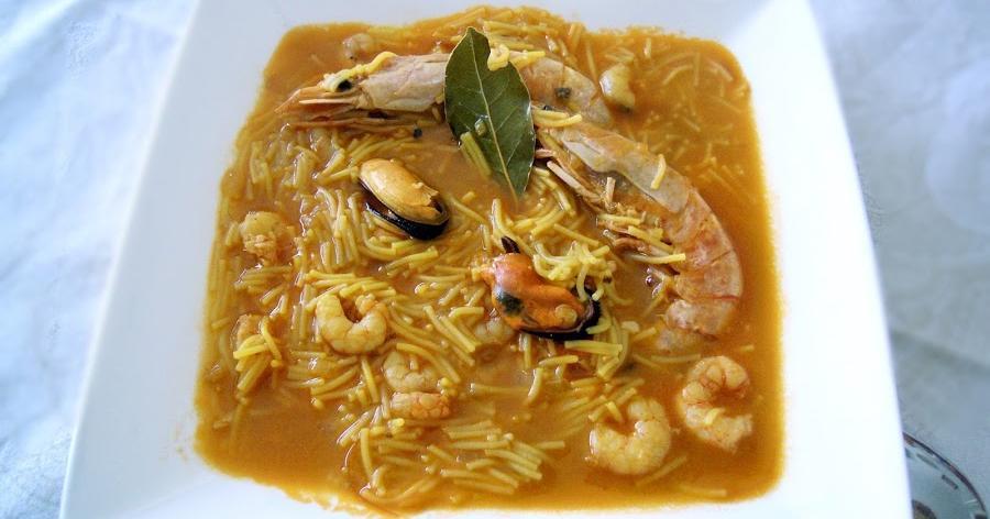 Sopa de marisco: el primer plato para tu menú navideño