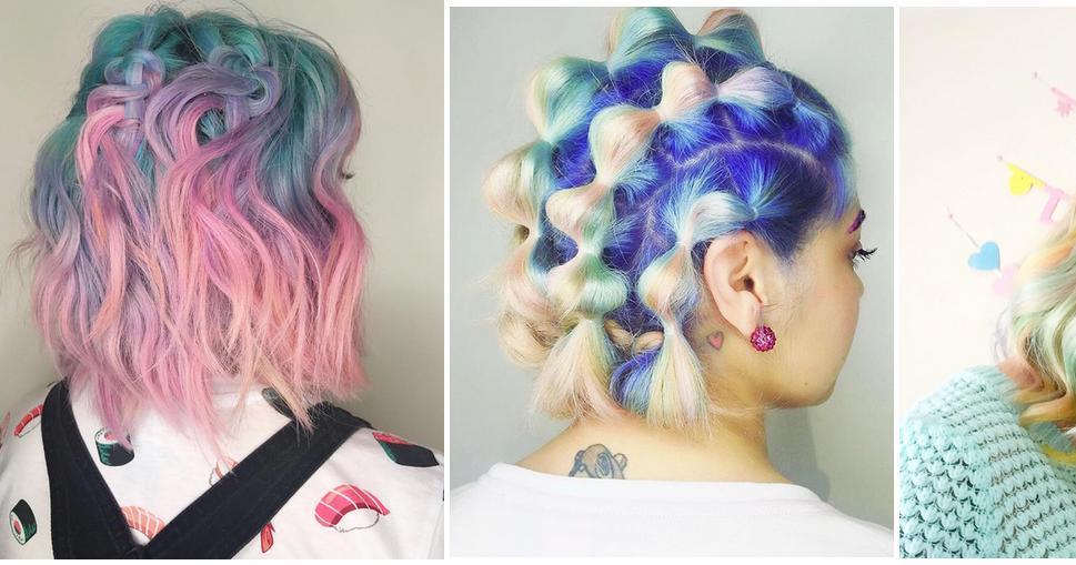 La chica cupcake de Instagram, ¡las tonalidades de su pelo son pura tendencia!