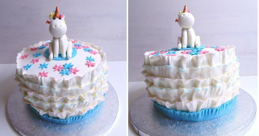 Aprende a hacer un precioso unicornio para decorar tu tarta