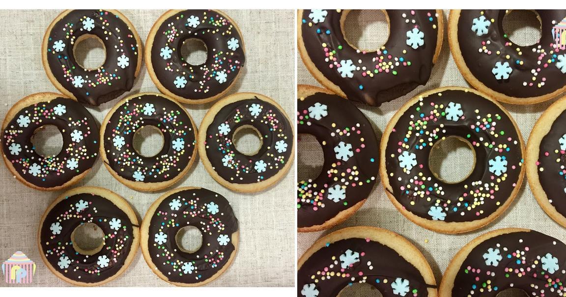 Donuts navideños de canela y jengibre al horno (sin gluten ni lactosa)